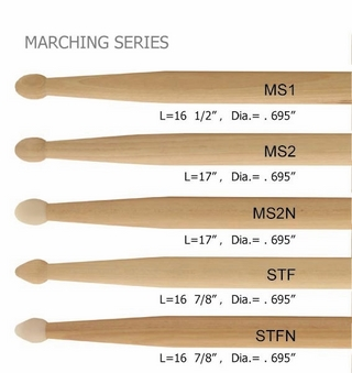 Marching Drum Sticks